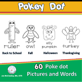 Pokey Pin Push Pin Fine Motor Skills for Fall