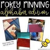 Fine Motor Activity-Alphabet Pokey Pinning