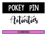 Pokey Pins Activities