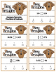 Pokey Porcupine Poke Cards: Compare Percents, Fractions and Decimals
