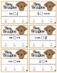 Pokey Porcupine Poke Cards: Compare Percents, Fractions an