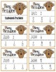 Pokey Porcupine Poke Cards: Equivalent Fractions