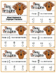 Pokey Porcupine Poke Cards: Mixed Numbers & Improper Fractions