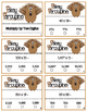 Pokey Porcupine Poke Cards: Multiply a Multiple Digit by T