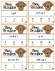 Pokey Porcupine Poke Cards: Numerical Expressions with Exponents & Integers