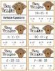 Pokey Porcupine Poke Cards: Variable Equations