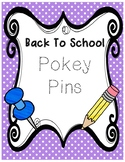 Pokey pins back to school