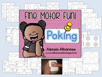 Poking - Fine Motor Fun!