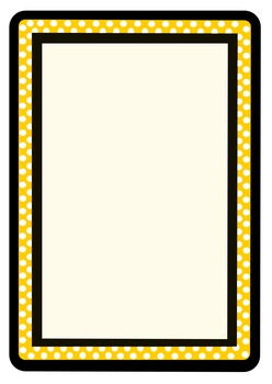 Borders Polka Dotted Frames