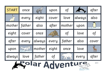 Polar Adventure - sight word game