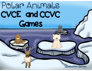 Polar Animal CVCE and CCVC Games