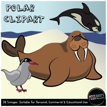 Polar Animal Clip Art (Arctic / Antarctic)