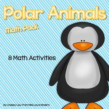 Polar Animals Math Pack