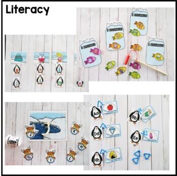 Polar Animal Preschool Pack