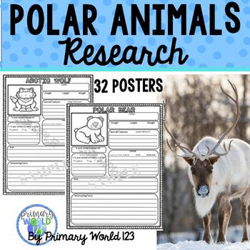 Polar Animal Research Posters