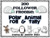 Polar Animal 'Roll-to-Tally' Math Center ~200 FOLLOWER FREEBIE!~
