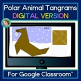 Polar Animal Tangram DIGITAL Puzzles For Google Slides™