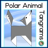 2D Shapes Center Polar Animal Tangram Puzzles
