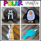 Polar Animal Themed Crafts for Preschool and Kindergarten with Visual Directions