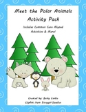 Polar Animals Bundle Common Core Aligned Literacy & Math Activities & More!