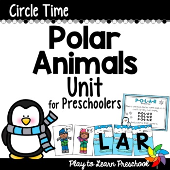 Polar Animals Circle Time Unit