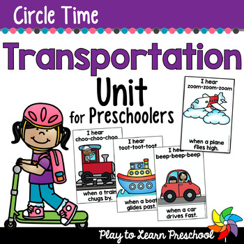 Transportation Circle Time Unit
