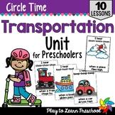 Transportation Circle Time Unit