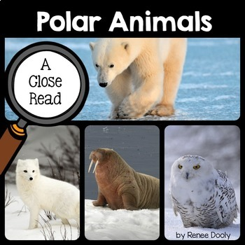Close Read and Interactive Notebook Bundle- Polar Animals