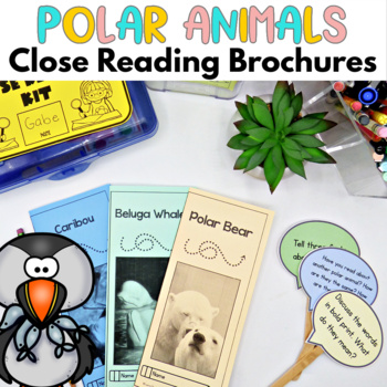 Polar Animals Close Reading Passages with questions