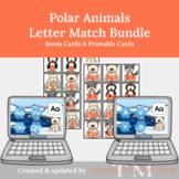 Polar Animals Letter Game Bundle: Digital & Printable