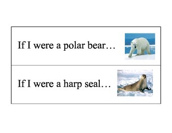 Polar Animals Literacy Center: Writing