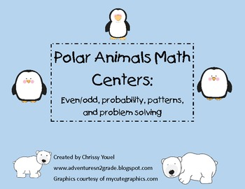 Polar Animals Math Centers