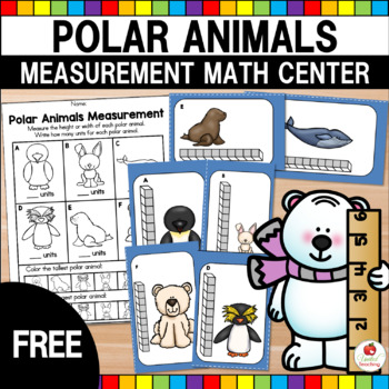Polar Animals Measurement - Free Math Center
