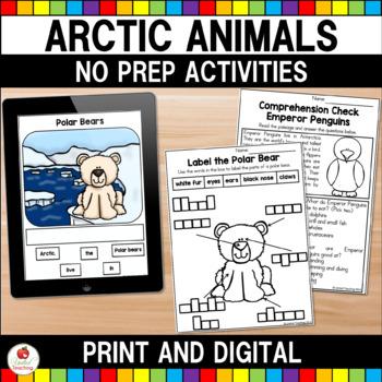 Polar Animals No Prep Activities