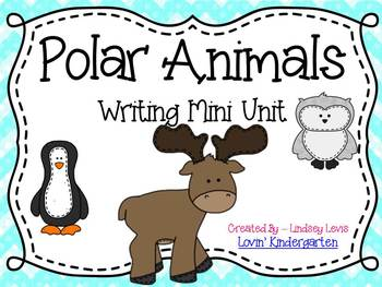 Polar Animals {No Prep Writing}