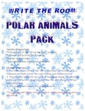 Polar Animals Pack - Write the Room Activity