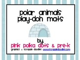 Polar Animals Play-Doh Mats