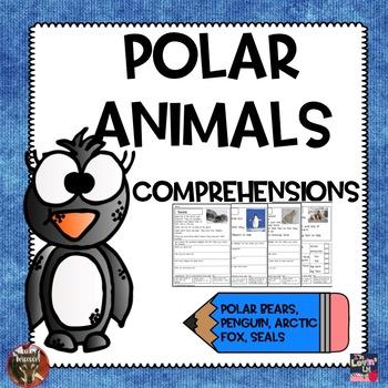 Polar Animals Reading Comprehensions