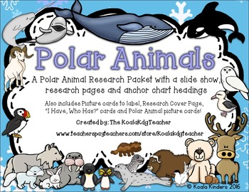 Polar Animals Research Packet