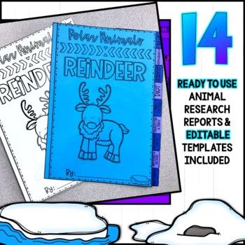 Polar Animals Research Project Flipbook!