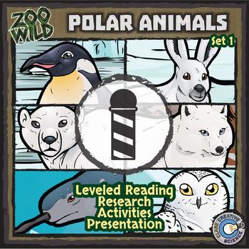 Polar Animals - Starter Bundle - Leveled Reading, Slides & Activities