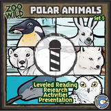 Polar Animals - Starter Bundle - Leveled Reading, Slides & Activities