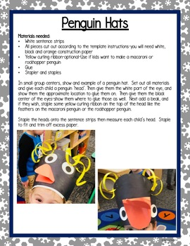 All About Polar Animals 5-day Unit/Lesson Plans for Preschool PreK, K Homeschool