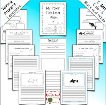 Polar Animal Unit {1st 2nd CCSS Informative Writing + Craft Projects}