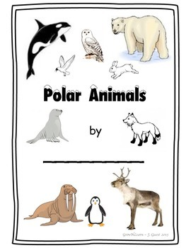 Polar Animals -Winter Writing and Word Work