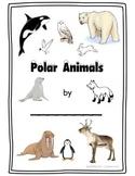 Polar Animals -Winter Writing and Word Work