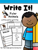 Polar Animals Writing Center Activities