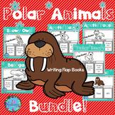 Winter Animals - Polar Animals Writing Flap Books! (BUNDLE)