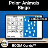 Polar Arctic Animals Bingo BOOM Cards for Speech Therapy