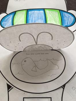 Polar Bear Activity and Craft: Science, Life Cycle, Writing, Art